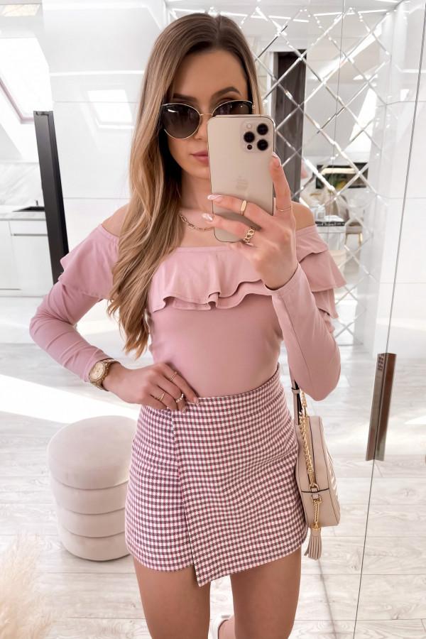Różowa bluzka hiszpanka Massimo