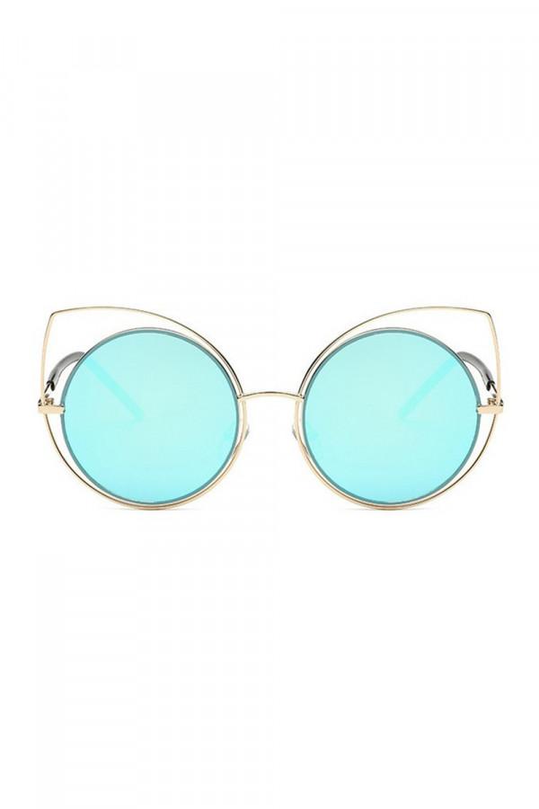 Błętkine lustrzane okulary kocie oko Evie