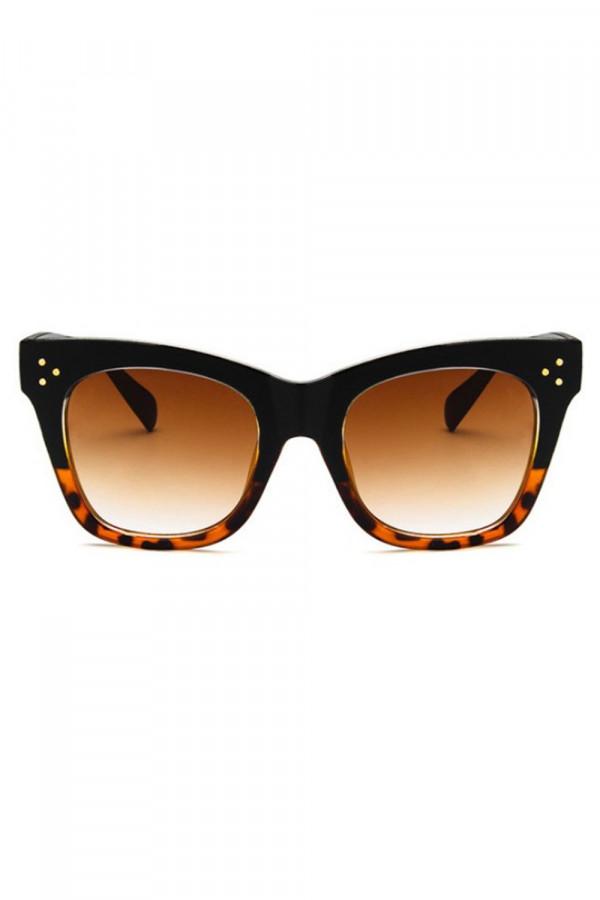 Panterkowe okulary przeciwsłoneczne kocie oko Wild