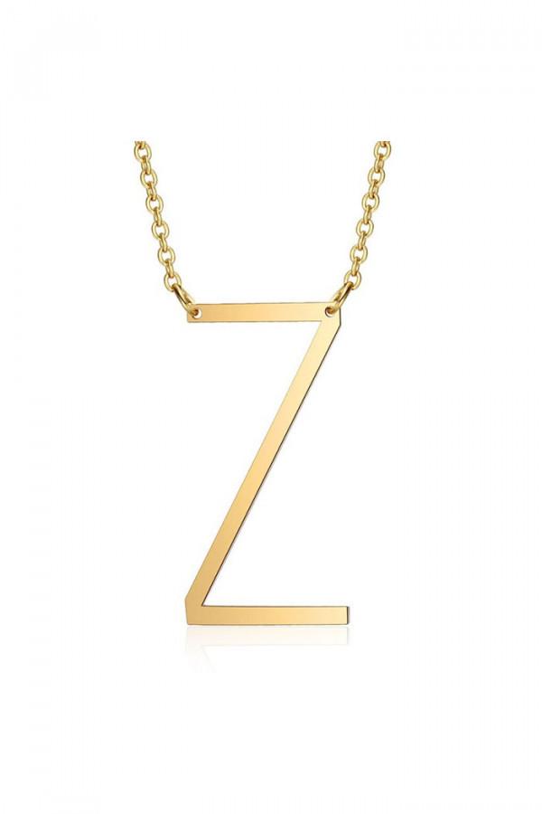 Naszyjnik celebrytka litera Z
