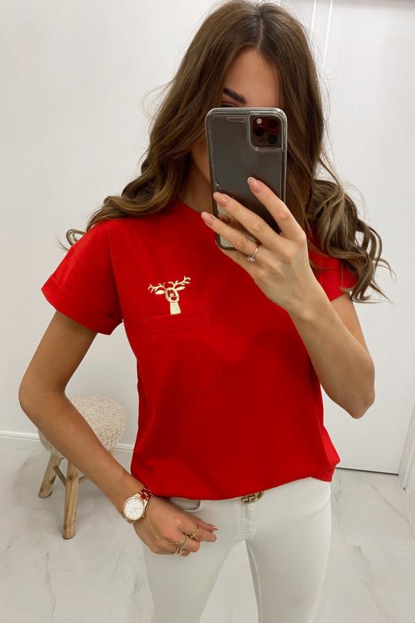 Koszulka z kieszonką Rudolf