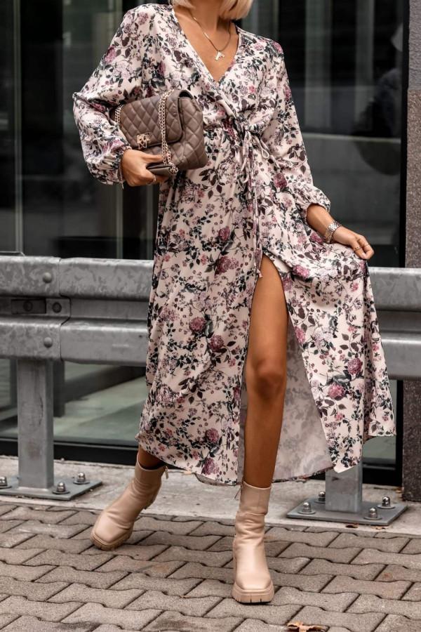 Sukienka w kwiatowe wzory Sophia
