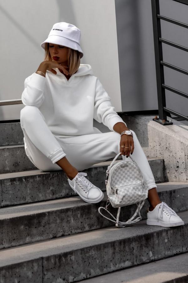 Biały komplet dresowy bluzka i spodnie Arianna