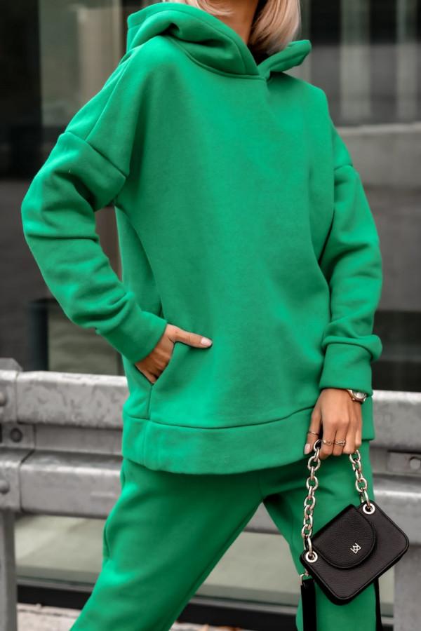 Zielony komplet dresowy bluzka i spodnie Arianna