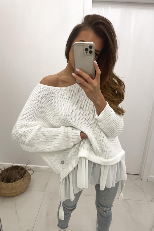 Sweter biały Viva