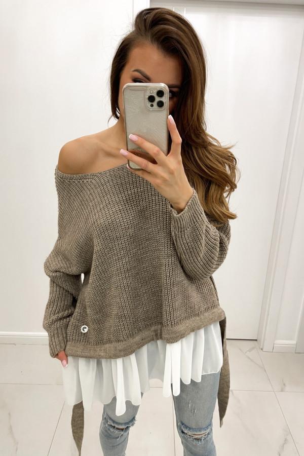 Sweter mokka Viva