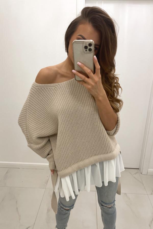 Sweter nude Viva