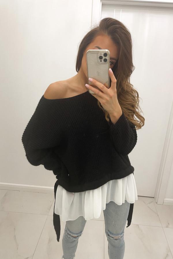 Sweter czarny Viva