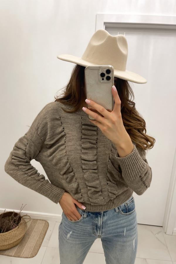 Sweter mokka Flou
