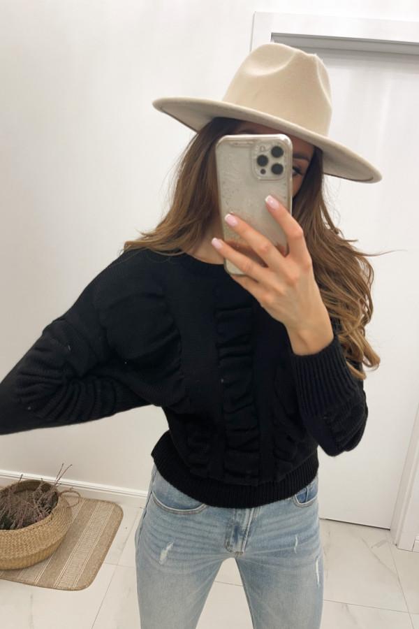 Sweter czarny Flou